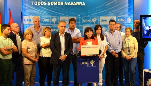 Alcaldes y concejales de la formación regionalista.