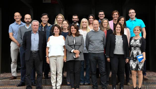 Representantes de Refbio II, reunidos esta semana en Pamplona.