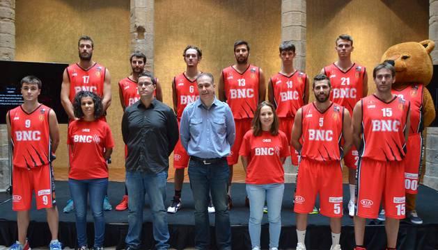 Plantilla del Basket Navarra Club.
