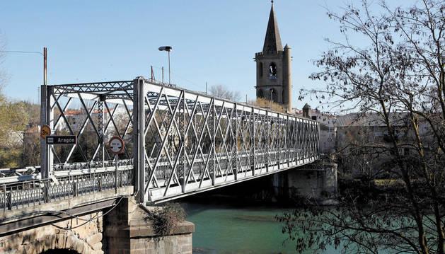 El puente de Sangüesa tendrá nuevo alumbrado ornamental.