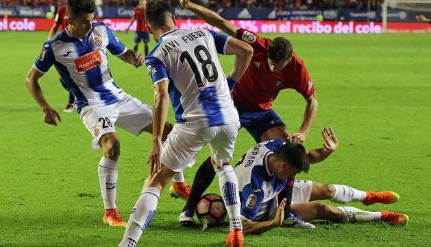 Las imágenes más emocionantes del partido disputado este jueves en El Sadar.