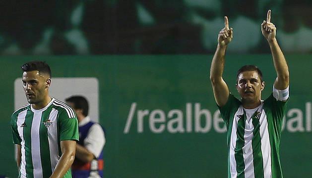 Al Betis le bastó una buena primera parte (1-0)