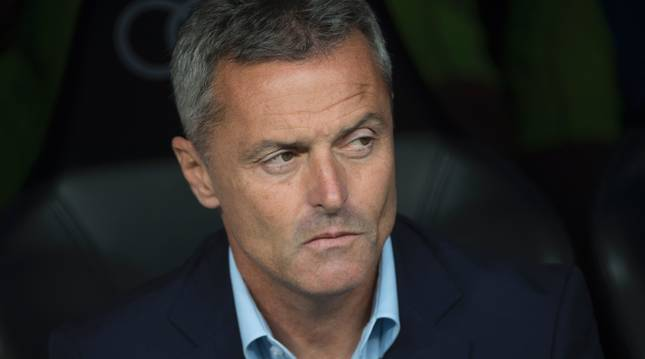 Fran Escribá, entrenador del Villarreal.