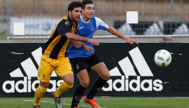 Imagen del Iruña-Peña Sport de la Copa Federación.
