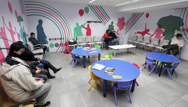 Centro de Salud Mental Infanto-juvenil de Sarriguren.
