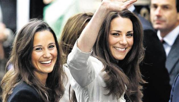 Pippa y Kate Middleton.