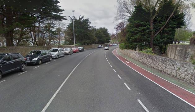Tres muertos en un accidente de tráfico en la Avenida del Faro de Santander