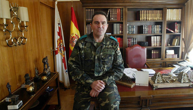 El general Gan Pampols en su época al frente de América 66.