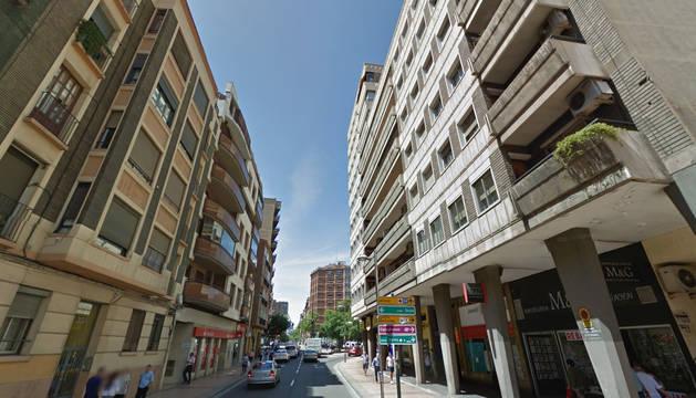 Detenido un hombre en Zaragoza por agredir a su pareja en la vía pública