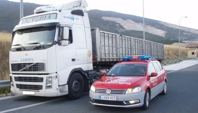 Denunciado en Imarcoain un camionero por cuadruplicar la tasa de alcoholemia