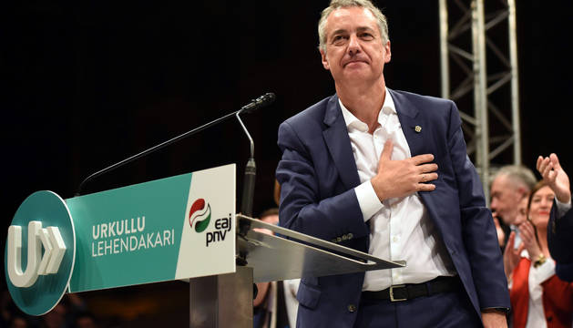 El PNV se refuerza, EH Bildu resiste a Podemos y el PSE cae en picado