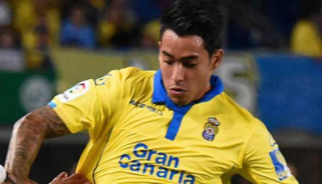 Sergio Araújo, durante un partido.