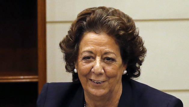 La senadora por Valencia Rita Barberá.