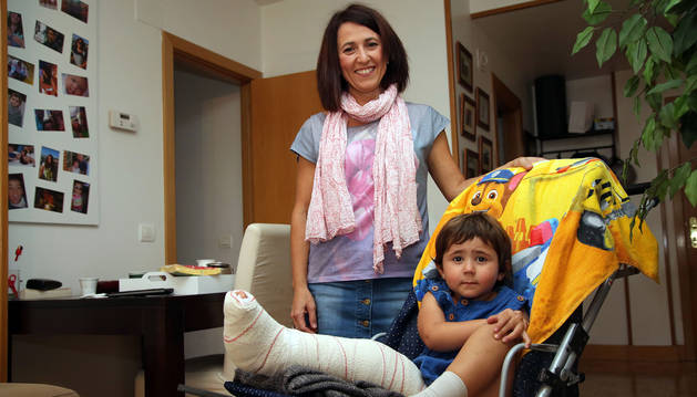 """""""El ciclista que arrolló a mi hija iba con el móvil"""""""