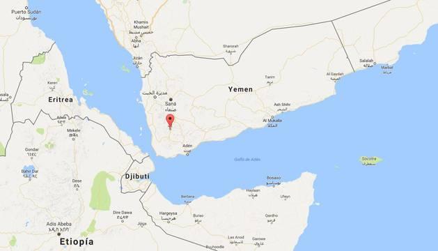 Ciudad de Ibb, en Yemen.