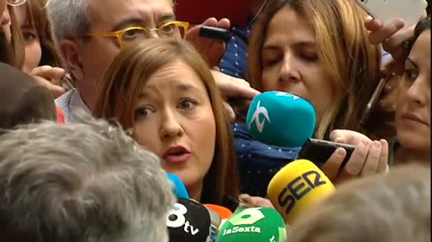 Declaraciones de la presidenta del Comité Federal del PSOE
