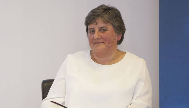 Anabel Zariquiegui, directora regional de hipermercados Eroski de Navarra, Guipúzcoa y La Rioja