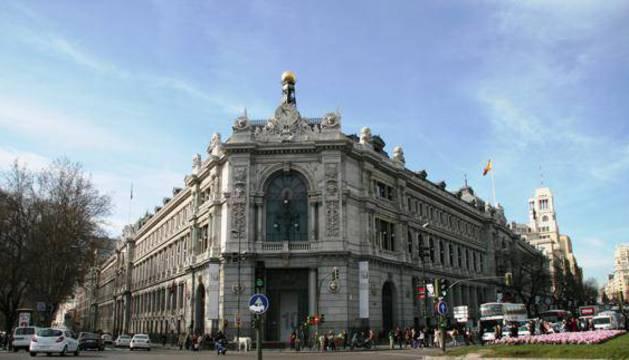 Sede del BAnco d España en Madrid.