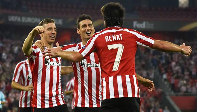 Beñat da los tres puntos a los de Valverde (1-0)