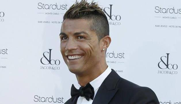 Cristiano Ronaldo, durante una gala en Montecarlo.