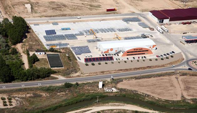 Planta del Grupo OPDE en Fustiñana