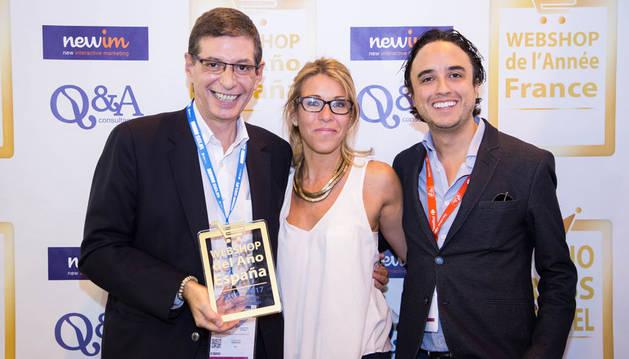 Carrefour recibe el premio a la mejor web de alimentación