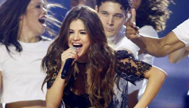 Selena Gomez, en uno de sus últimos conciertos