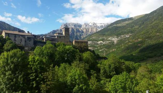 Torla, en el Pirineo oscense.