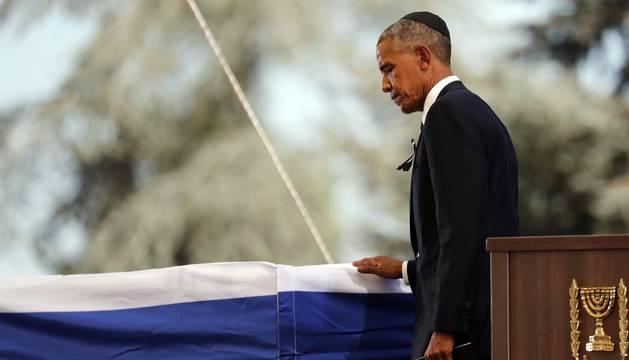 Amigos y adversarios dejan de lado las diferencias para despedir a Simón Peres