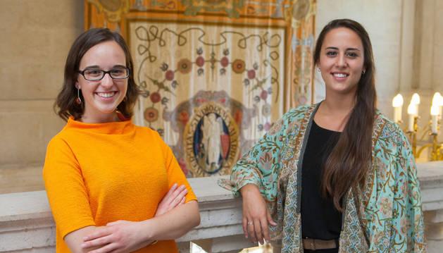 Laura Venzal (izquierda) y Loreto Garrido.