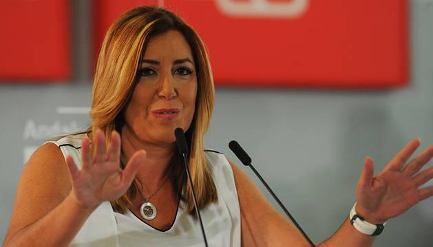 Susana Díaz, las dudas de la baronesa del Sur