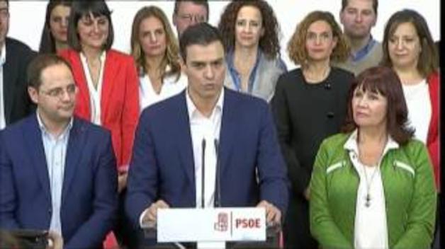 La amarga y breve historia de Pedro Sánchez al frente del PSOE