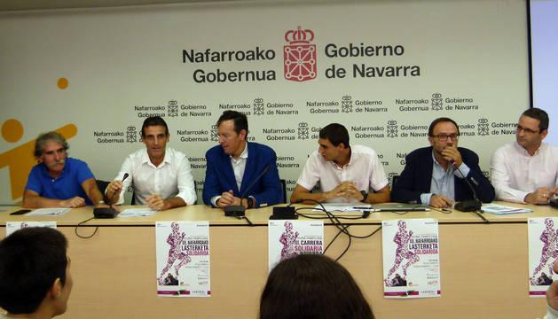 Presentación de la III Carrera Solidaria de Navarra.