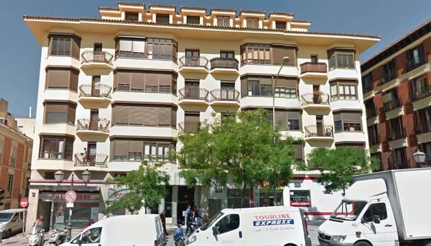 Número 83 de la calle San Bernardo de Madrid, donde ha tenido lugar el suceso.