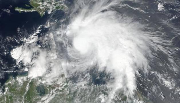 Imágenes de la NASA del huracán Matthew.