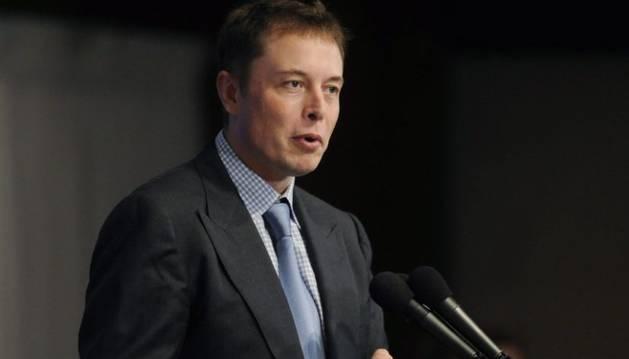 El millonario Elon Musk.