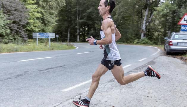 Imágenes de la carrera celebrada este domingo en el recorrido del Camino de Santiago.