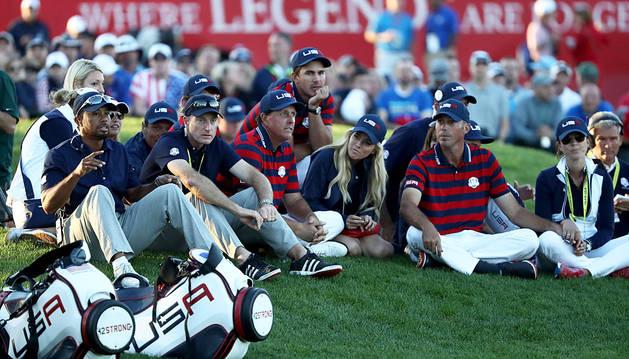 EE UU cobra ventaja ante la última jornada de la Ryder Cup