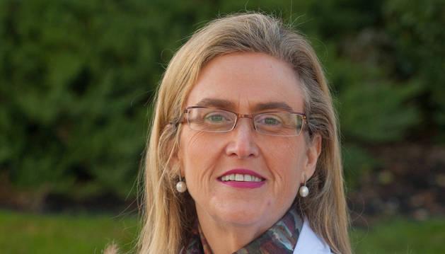 La investigadora María Jesús Moreno Aliaga.
