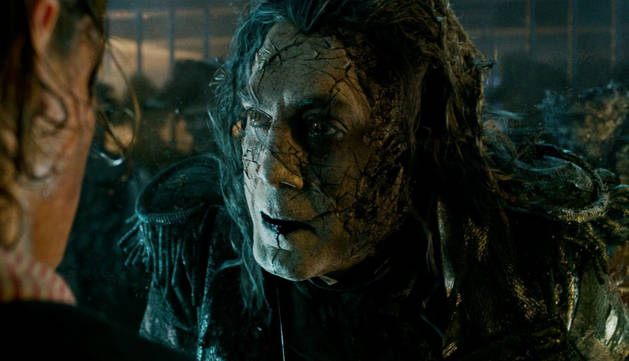 Javier Bardem interpreta al Capitán Salazar en la nueva película de Piratas del Caribe, prevista para mayo de 2017.