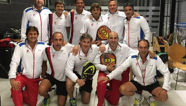 Veteranos del Club Tenis.