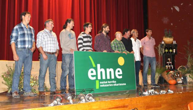 Nueva ejecutiva de EHNE en Navarra
