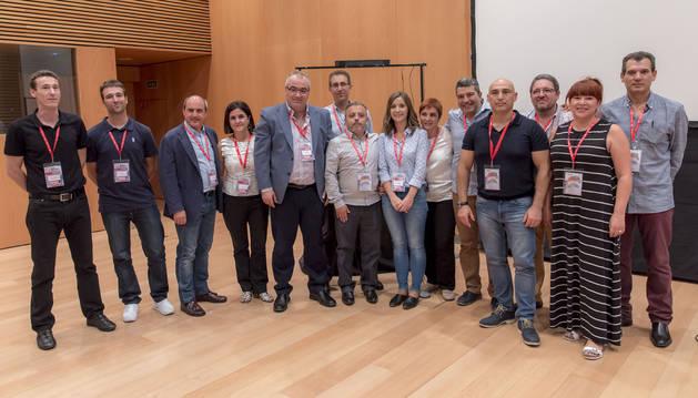 Miembros de la Comisión Ejecutiva de FICA-UGT de Navarra