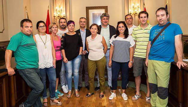 Arguedas participa en el Reto Solidario de la Fundación Diario de Navarra