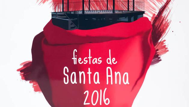 Cartel de las fiestas de 2016 que fue elegido como ganador del concurso por votación popular.