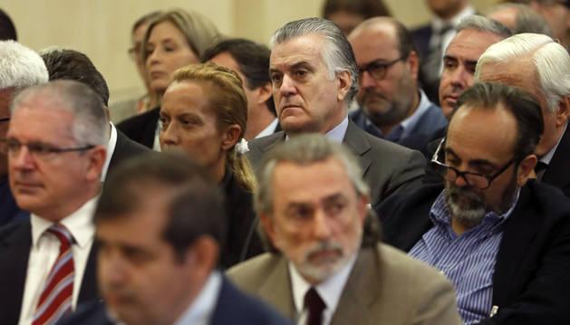 Luis Bárcenas, junto a Francisco Correa, presunto cabecilla de la trama Gürtel,