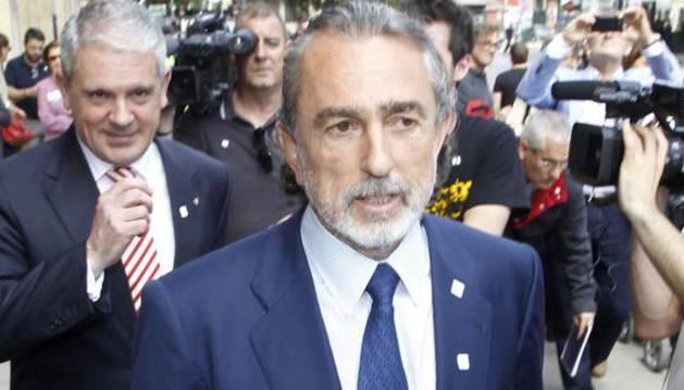 Los cabecillas de la trama Gürtel, Francisco Correa (d) y Pablo Crespo.