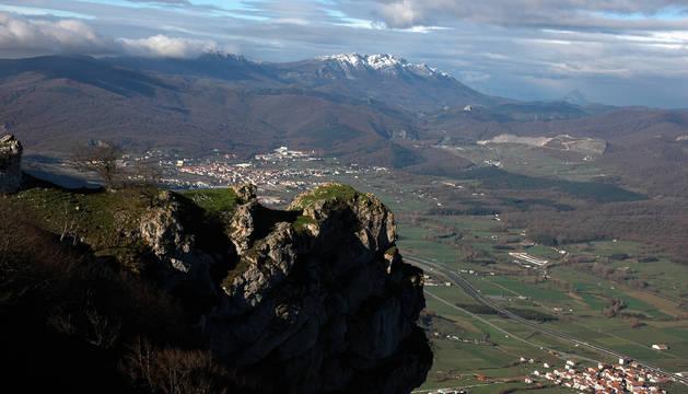 Localizado un hombre de 79 años extraviado en el monte de Iturmendi