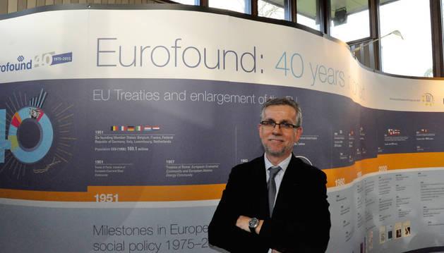Juan Menéndez-Valdés es director de Eurofound, la fundación europea para la mejora de las condiciones de vida y de trabajo.