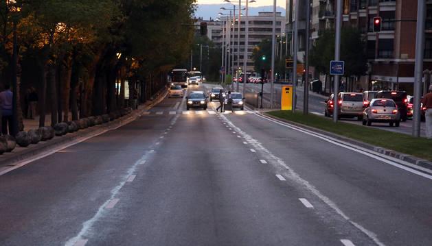 Foto de la avenida del Ejército, una de las vías afectadas por el plan.
